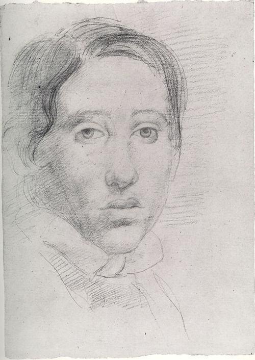 Edgar Degas, Self-Portrait c. 1855