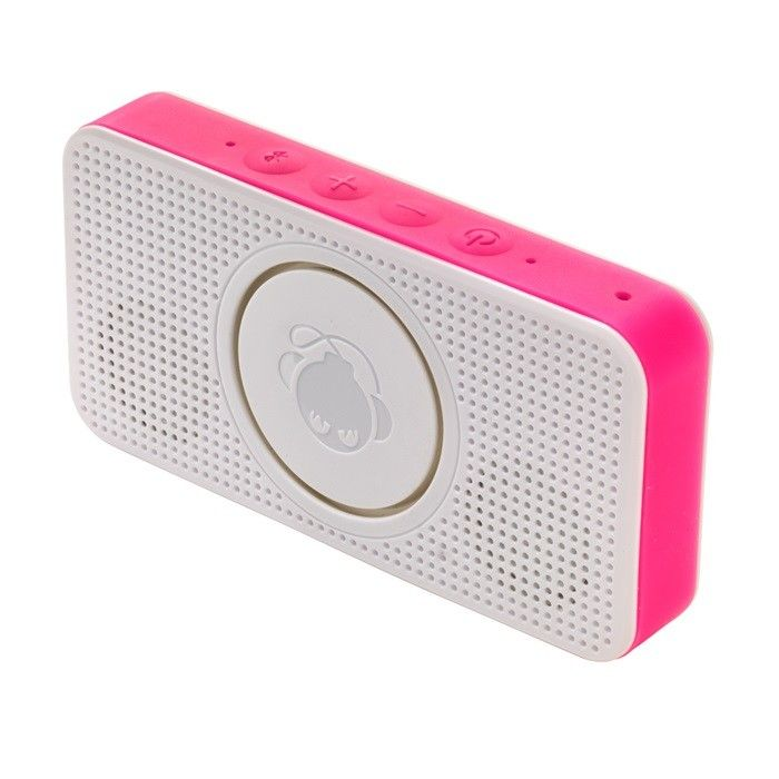 Boomphones Pocket Speaker - Pink Model  BPSK01PN Condition  New  Boomphones Pocket Speaker termurah hanya di Gudang Gadget Murah. The Pocket Speaker was designed specifically with loud sound in mind. Equipped with a 360-degree audio architecture, it brings room-filling sound to a pocket-size frame that tucks away just about anywhere you want it to go - Pink