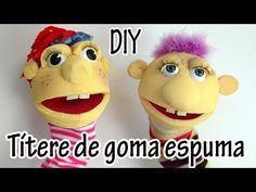 Como hacer un Títere de calcetín - Manualidades para todos - YouTube