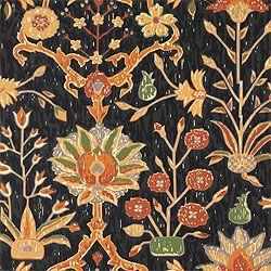 Pattern Bohemian –Wallpaper  Collection Jacaranda  Colorway Black      Coming soon to @Jonathan London Kings Lane    #bohemian #wallpaper #fabric