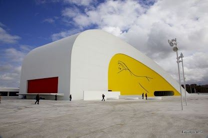 Art-kids-tectos. Recorrido guiado por el Centro Niemeyer