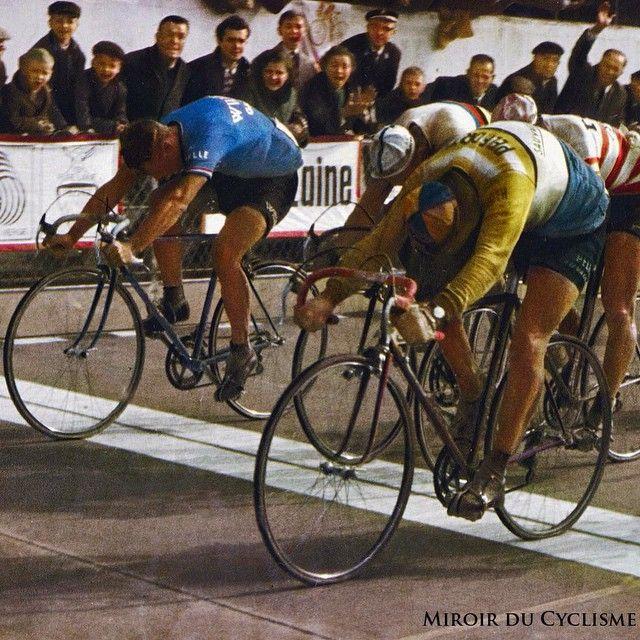 Sprint finish paris roubaix 1967 1 jan janssen pelforth sauvage lejeune 7hr 8min 31sec 36 - Le roi du matelas roubaix ...