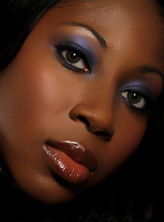 How To Apply Bridal Makeup For Black Skin : Photo via Wedding, Wedding makeup and American wedding