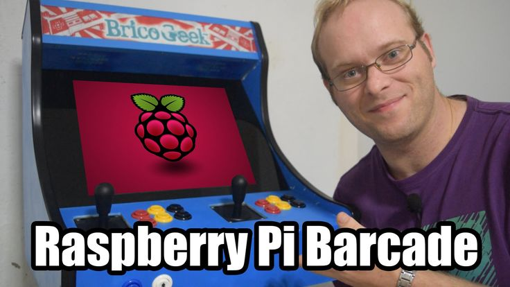 Liked on YouTube: Máquina Arcade con Raspberry Pi y retroPie