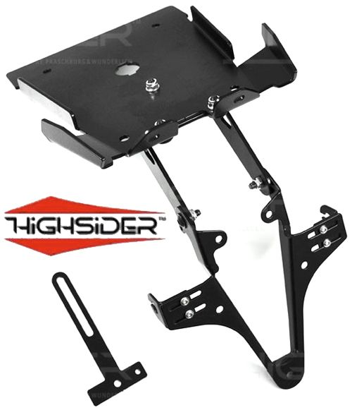 Ducati Monster 696 2009-14 Highsider Tail Tidy Number Plate Bracket