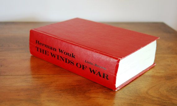 The Winds of War First Edition 1971, Herman Wouk, World War II, The Greatest Generation, Historical Fiction, Hardcover Collector's Copy