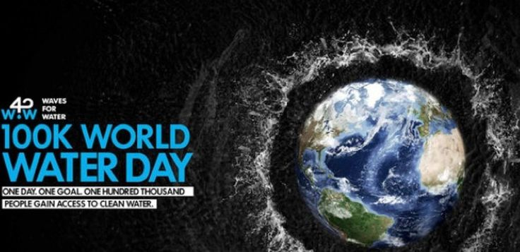 Waves For Water. 100K World Water Day | Surf Culture
