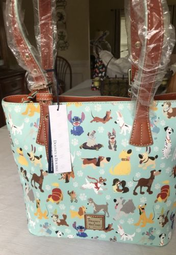 1880ccd97bce Dooney Bourke Disney Dogs Emily Tote Shopper Bag Lady Tramp Stitch Pongo NWT  | Misc For Sale | Pinterest | Shopper bag, Dooney bourke and Disney dogs