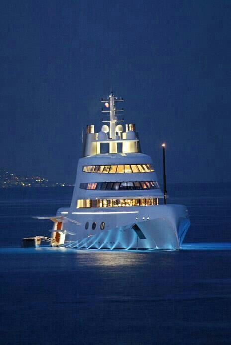 YachtLife - iv seen one of these up close - they had a minny deck at the base…