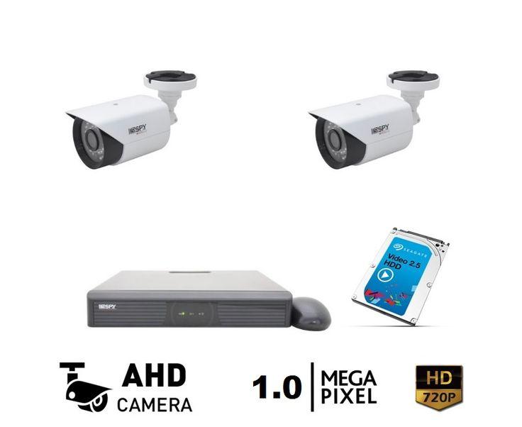 2 Kameralı Spy Eko Güvenik Kamera Seti Kurulum Dahil