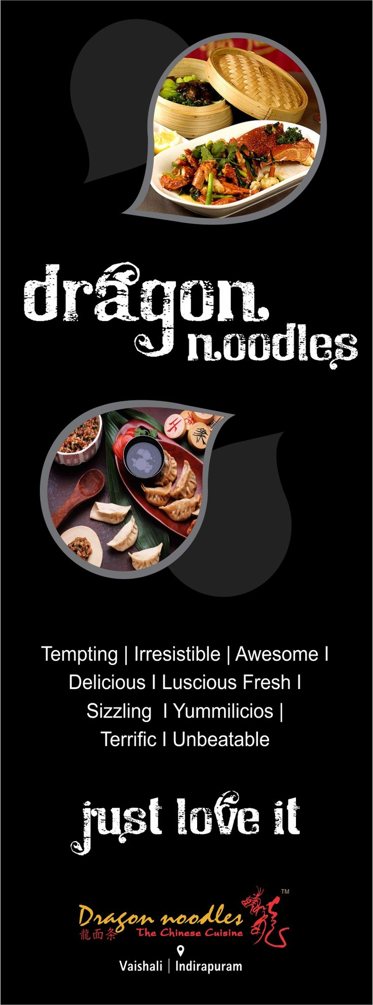 Originated for the love for food that is high on appeal, good in taste and excellent in quality.. #DragonNoodles #Chinese #Food #Ghaziabad #foodies