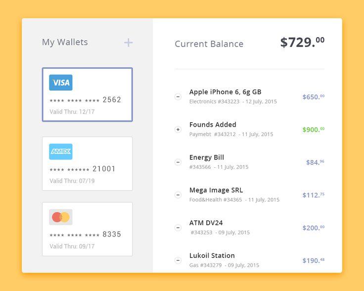 Day 023: Wallet: My Expenses / Paul Flavius Nechita