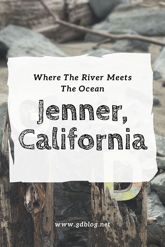 Where The River Meets The Ocean - Jenner, California