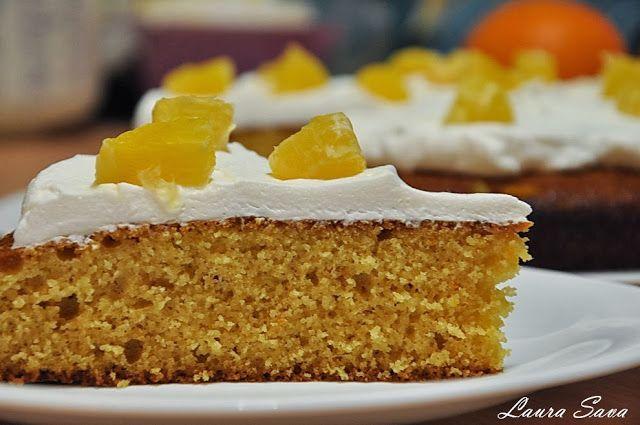 Tort de portocale cu gris pentru diabetici   Retete culinare cu Laura Sava
