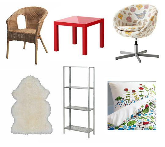 IKEA Dorm Supplies