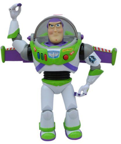 ADS Toy Story Deluxe Collection Ultimate Talking Buzz Lightyear Action Figure @ niftywarehouse.com #NiftyWarehouse #Toy #Story #Movie #ToyStory #Pixar