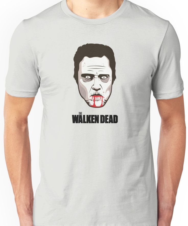 """Christopher Walken - """"The Walken Dead"""" Official Unisex T-Shirt"""