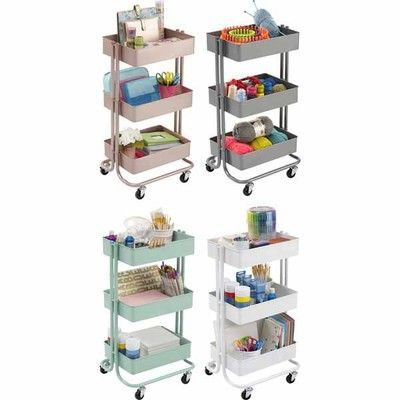 25 best ikea images on pinterest bathroom bathrooms and for Michaels craft storage cart
