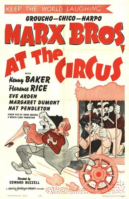 At the Circus (1939) - The Marx Brothers Watch it for Groucho's rendition of 'Lydia' alone.