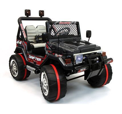 2017 Jeep Wrangler Style 12V Ride On Car w/ Remote Control, Leather Seat, UV Lights, 2 Speeds