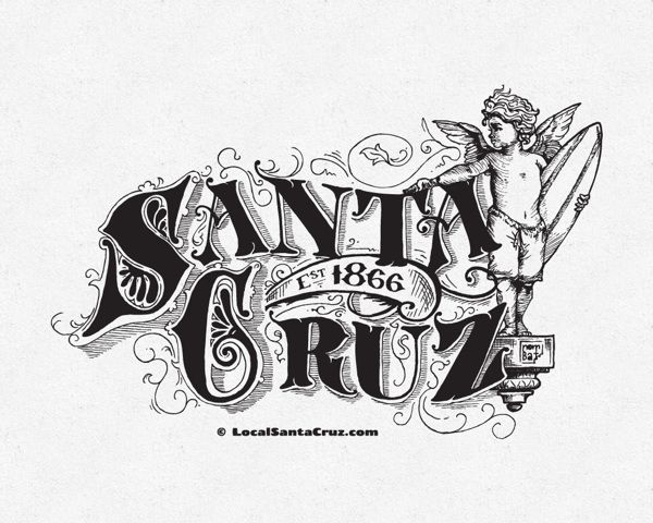 Victorian Santa Cruz by nomBat , via Behance