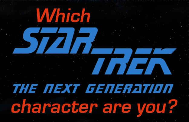 """Which """"Star Trek: The Next Generation"""" Character Are You?"""