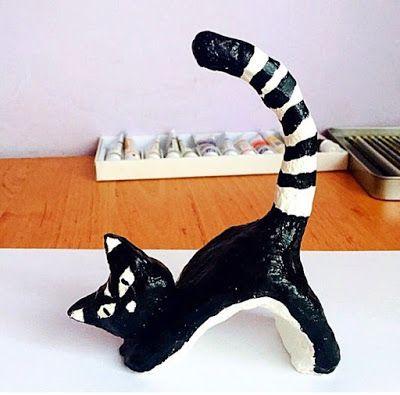 martaj_art: Figurka - Kot
