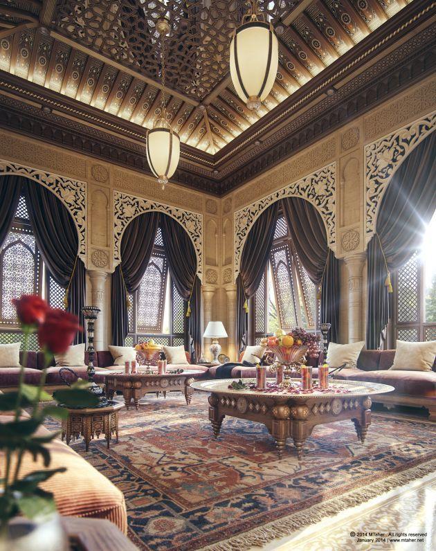 Cgarchitect professional 3d architectural visualization for Wohnzimmer orientalischer stil