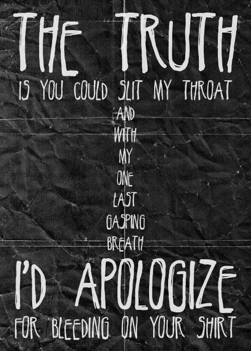 Taking back Sunday lyrics My song. It's pretty much, well, perfect. In all the right places.