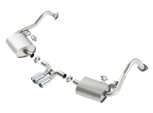 Add to Cart for Price! Borla S-Type Cat-Back Exhaust System for 2013-2016 Porsche 981 Cayman / Boxster & S Models #140534
