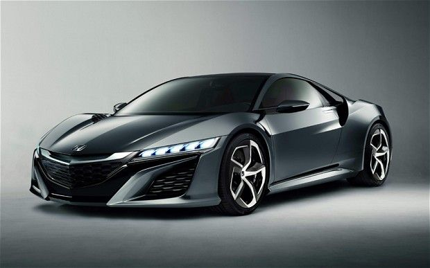 Check Out The New Honda NSX......
