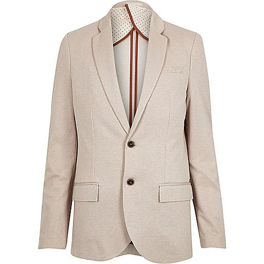 Stone woven slim blazer - coats / jackets - sale - men