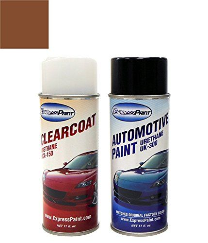 ExpressPaint Aerosol Ford Expedition Automotive Touchup Paint  Golden Bronze Metallic Clearcoat V7  Color  Clearcoat Package >>> Details can be found by clicking on the image. (It is an affiliate link and I receive commission through sales)