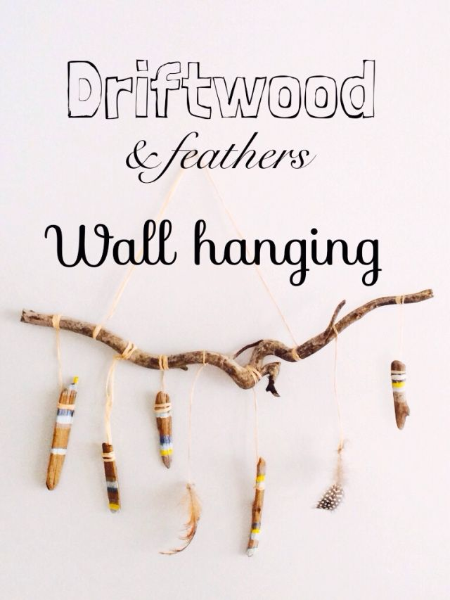 Driftwood Wall Hanging 51 best driftwood and feather wall hangers images on pinterest