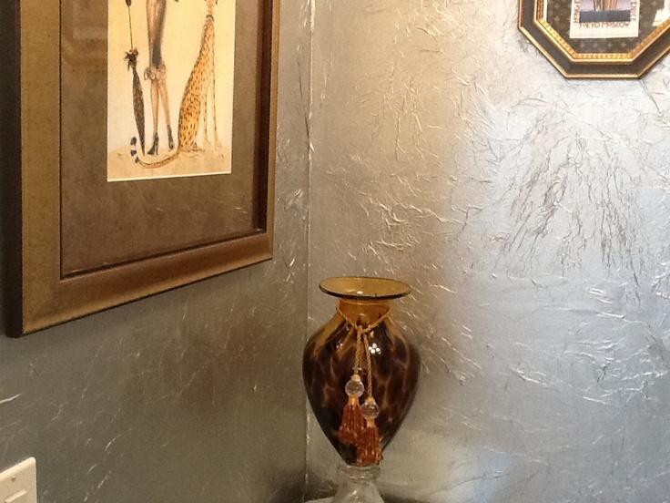 Faux Painted Silver Metallic Bathroom Walls 106 Best Diy Remodel Livingroom Images On Pinterest Ceiling