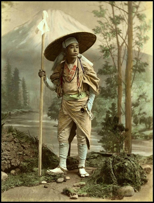 Japanese man from the Meiji era
