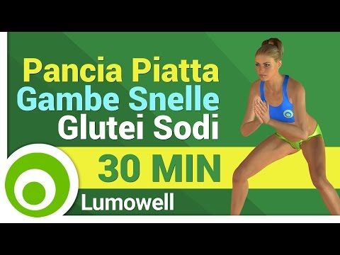 Come Eliminare la Cellulite - Esercizi per Glutei e Cosce ad Alta Intensità - YouTube