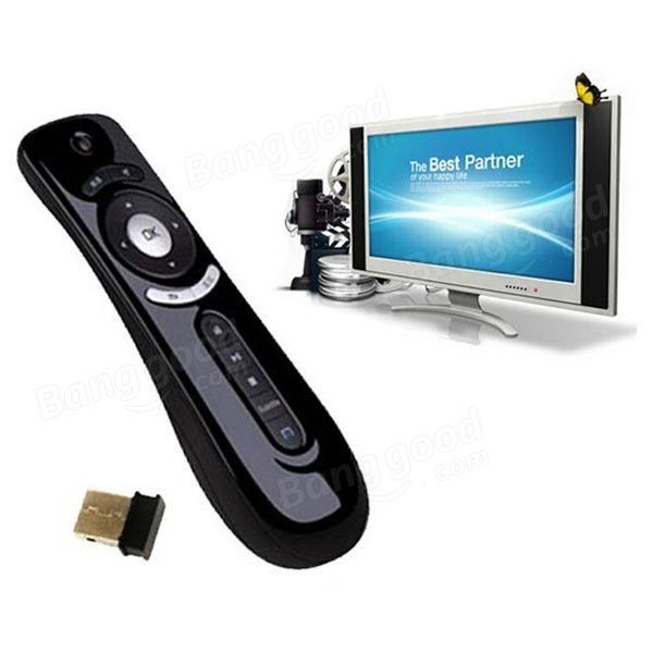 Tooploo T2 2.4G Wireless Fly Air Mouse Gaming Remote For Mac Android Sale - Banggood.com