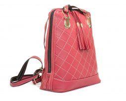 Luxusnýkožený ruksak z pravej hovädzej kože. Ruksak môžete použiť aj na turistiku alebo prechádzku. (3)