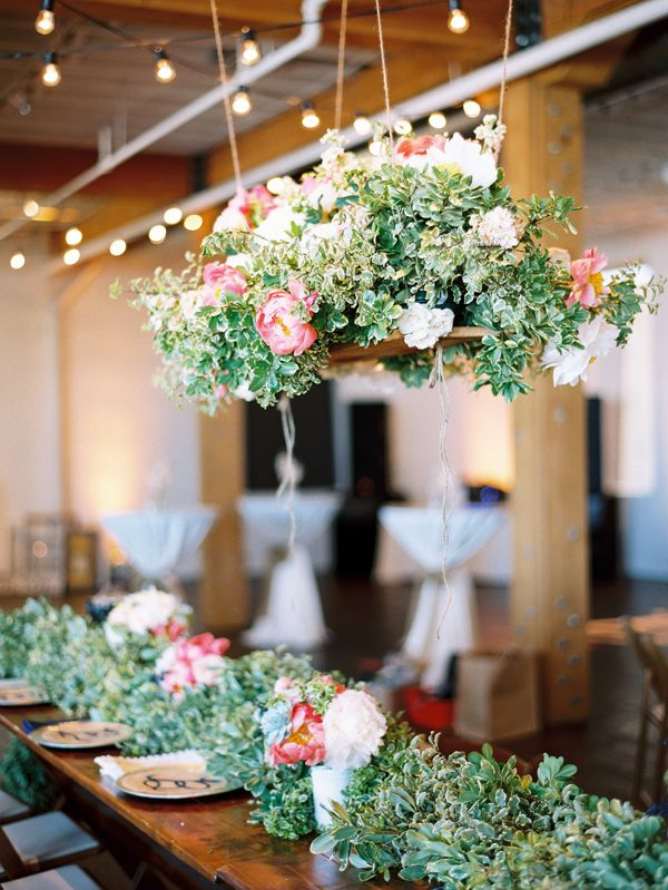 Hanging centerpiece