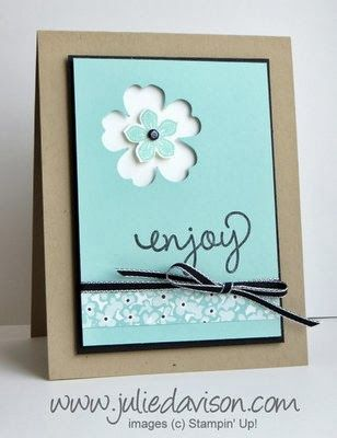 Julie's Stamping Spot --Perfect Punch Pair: Petite Petals + Pansy Punch