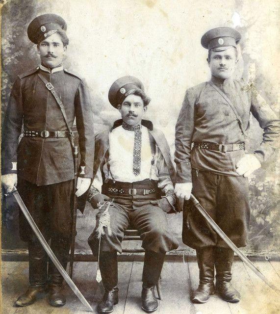 Donskie cossacks ( cossacks on river Don )