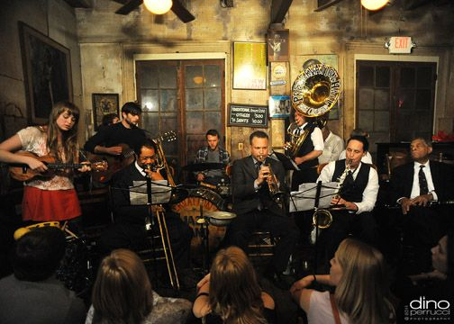 GIVERS and Tao Seeger Join Preservation Hall Jazz Band in New Orleans