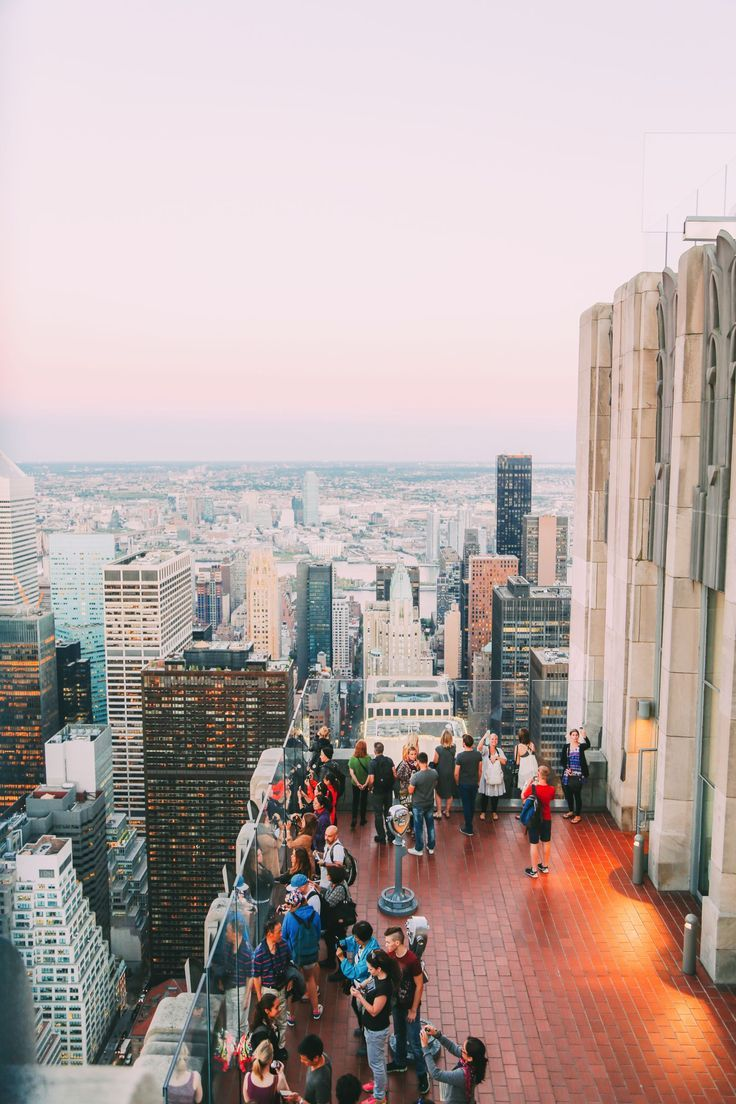 Top Of The Rock In New York City!