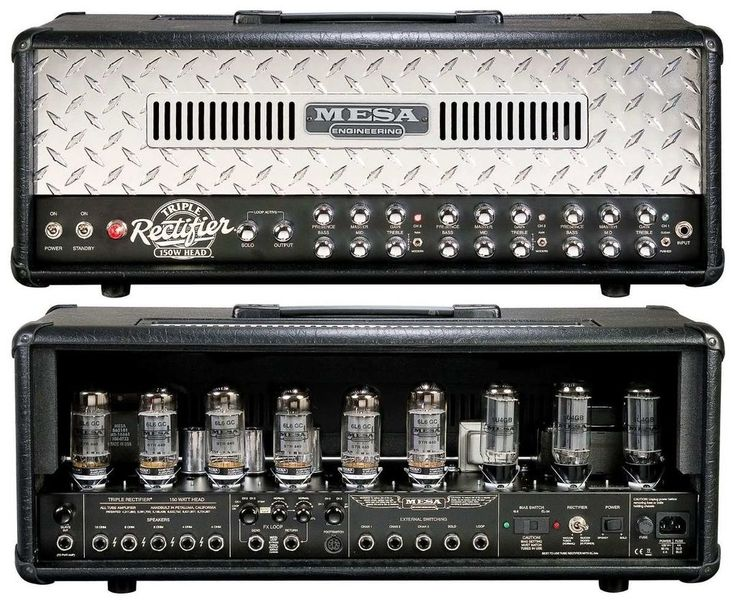 The Mesa Boogie Triple Rectifier Series