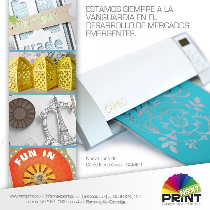 Diseño Mailing para Lanzamiento de Nueva Máquina Troqueladora en NextPrint - Noviembre de 2012 - Barranquilla, Colombia - Diseñadas por Lemon   Agencia de Medios y Publicidad. www.agencialemon.com — en Barranquilla- Atlantico, Colombia.