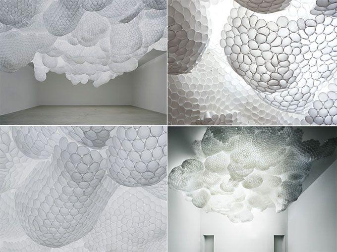 Inspired Art_Tara Donovan - Paper Cups