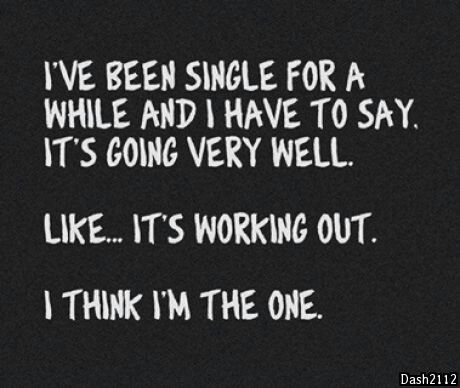 Single for damn long long while.... and finally..