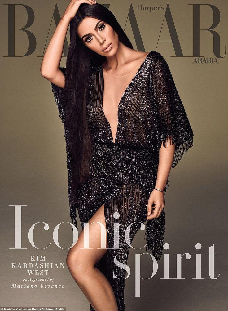 Kim Kardashian Is All Shades Of Beautiful For Harpers Bazaar Arabia
