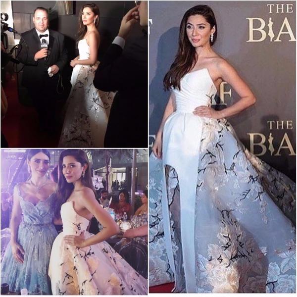 Mahira Khan looks like royalty on the BIAF 2017 red carpet | PINKVILLA
